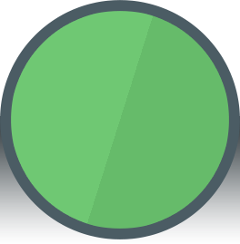 Just a circle for design effect.